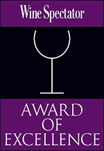 Wine Spectator - Award of Excellence