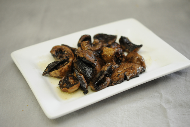 Sautéed Button Mushrooms