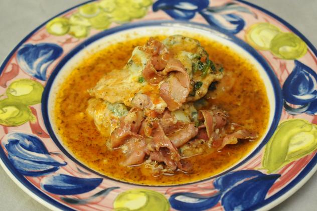 Veal Saltimbucca