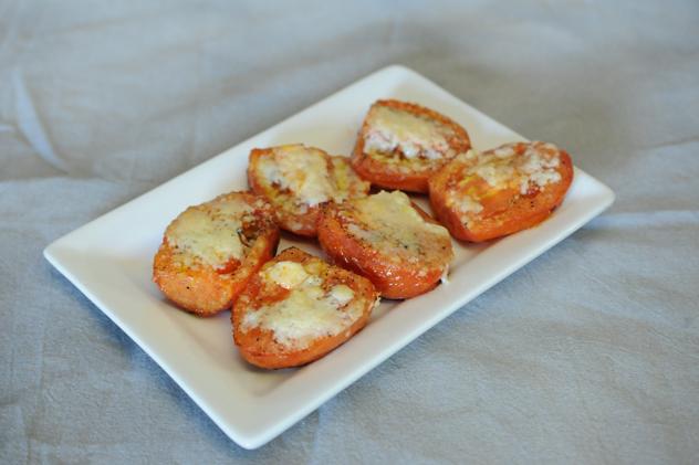 Pecorino Crusted Roasted Tomato