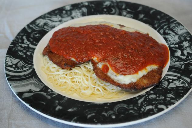 Veal Parmigiana